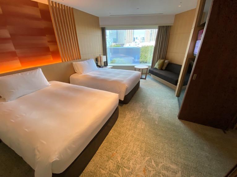 ホテル雅叙園東京「エグゼクティブスイート」:寝室2