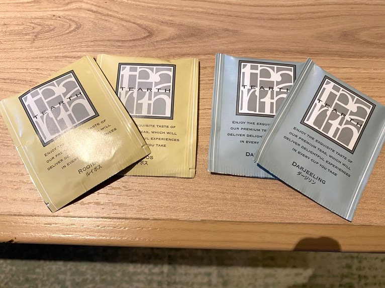 ホテル雅叙園東京「エグゼクティブスイート」:紅茶