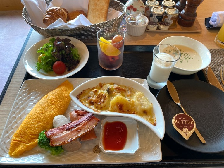 クラブラウンジ「朝食」:フード(洋食)