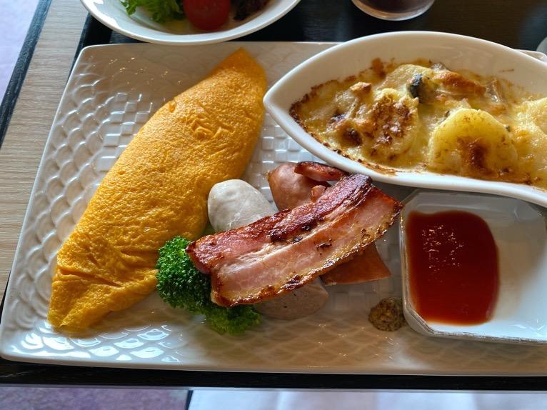 クラブラウンジ「朝食」:フード(オムレツ)