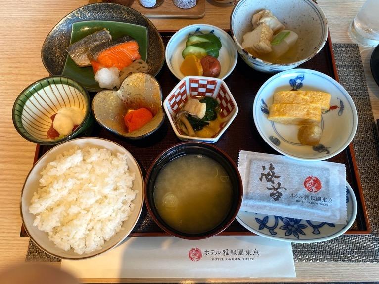 クラブラウンジ「朝食」:フード(和食)