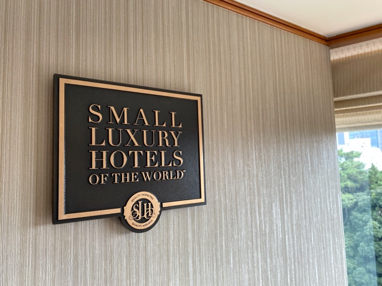 「Small Luxury Hotels of the World(SLH)」のロゴ