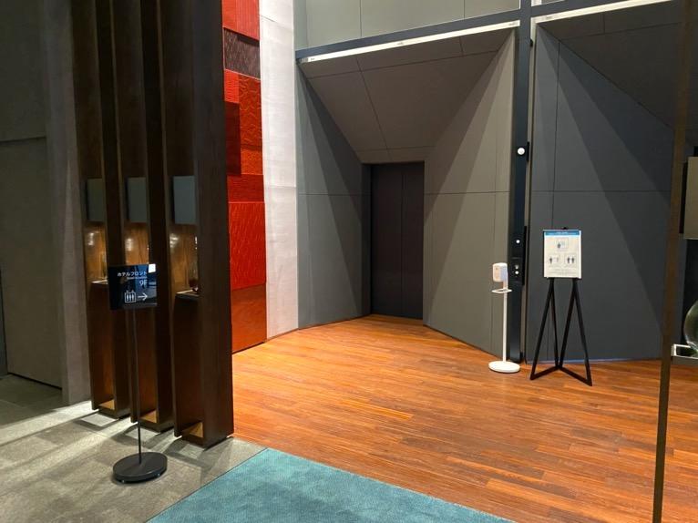 三井ガーデンホテル日本橋プレミア:エレベーターホール