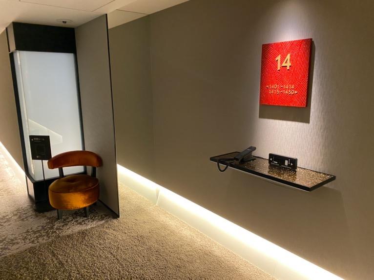 三井ガーデンホテル日本橋プレミア:エレベーターホール(14階)