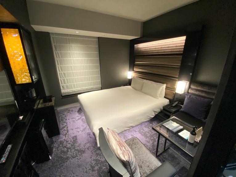 三井ガーデンホテル日本橋プレミア「モデレートダブル」:寝室