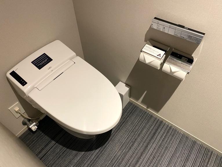 三井ガーデンホテル日本橋プレミア「モデレートダブル」:トイレ