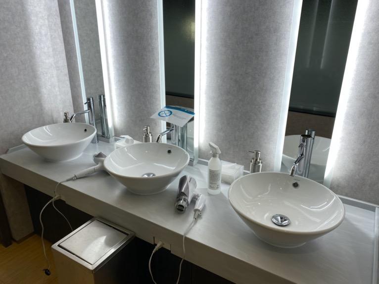 三井ガーデンホテル日本橋プレミア「大浴場」:グルーミングエリア