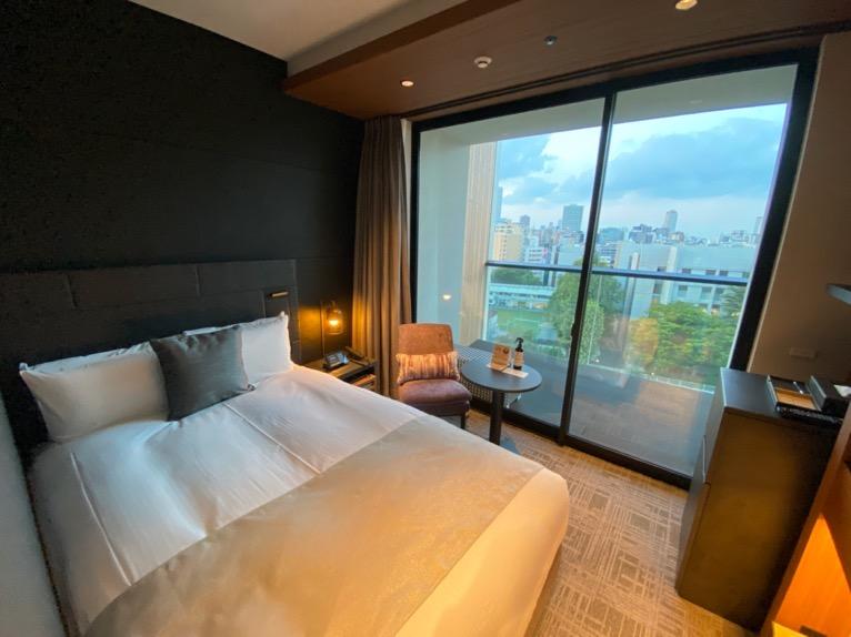 「モデレート」の客室:寝室