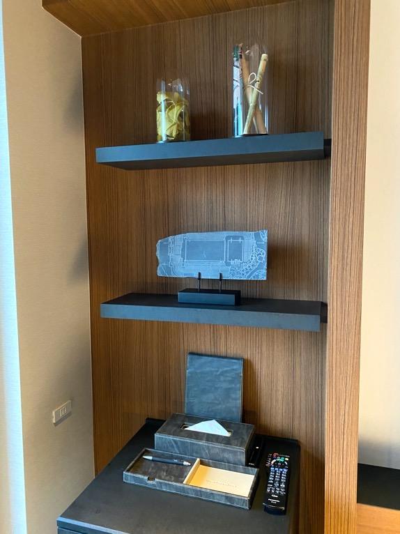 「モデレート」の客室:室内オブジェ