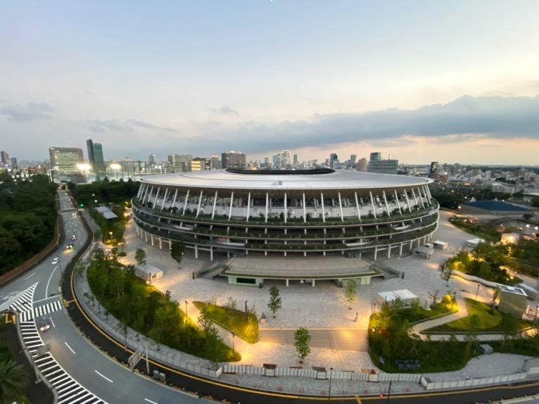 三井ガーデンホテル神宮外苑の杜プレミア「屋上テラス」:眺望1