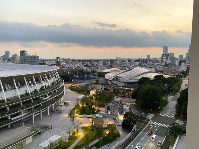 三井ガーデンホテル神宮外苑の杜プレミア「屋上テラス」:眺望2