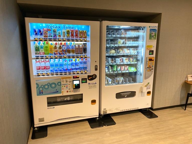 三井ガーデンホテル神宮外苑の杜プレミア「自動販売機」