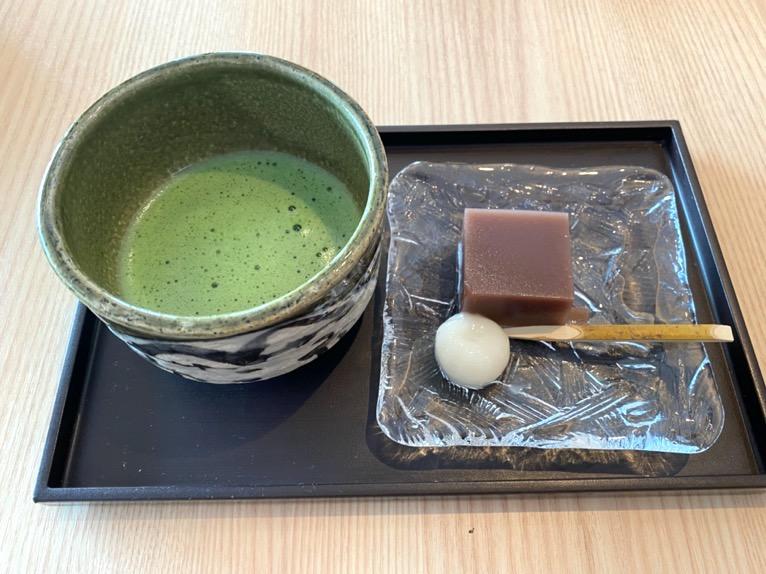 ホテル雅叙園東京:クラブラウンジ(抹茶)