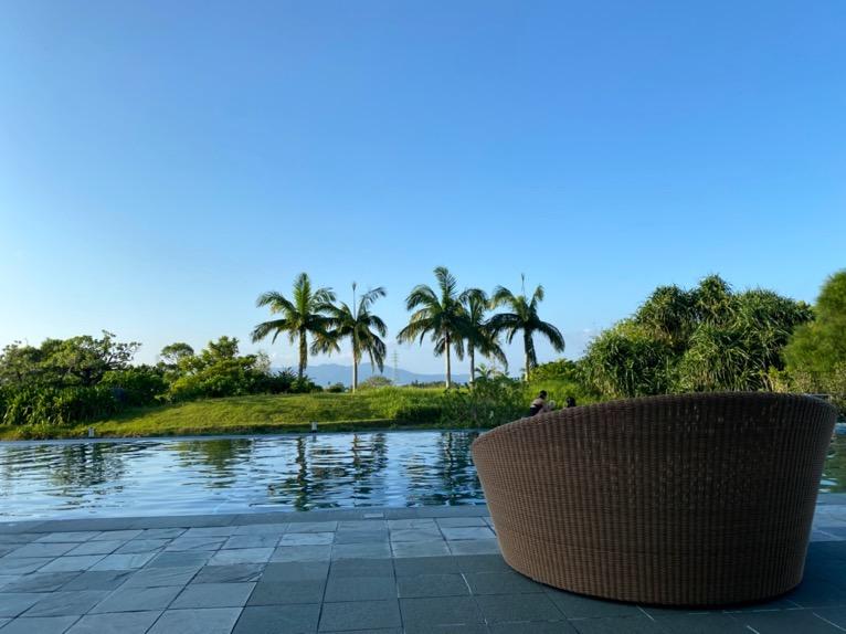 ザ・リッツ・カールトン沖縄のプールとスパ施設をブログレポート