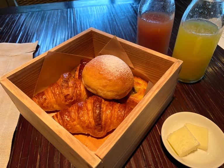 ザ・リッツ・カールトン沖縄の朝食:ブレッドバスケット