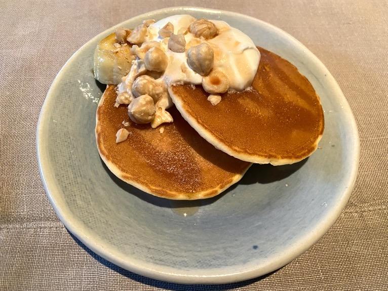 ザ・リッツ・カールトン沖縄の朝食:パンケーキ