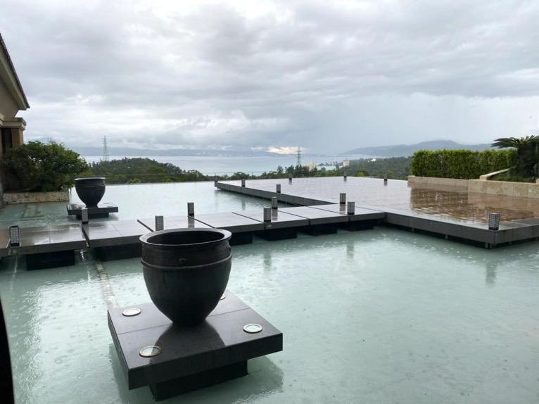 ザ・リッツ・カールトン沖縄の朝食:眺望