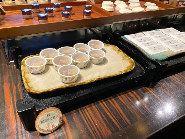 ザ・リッツ・カールトン沖縄の朝食:ビュッフェ(納豆)
