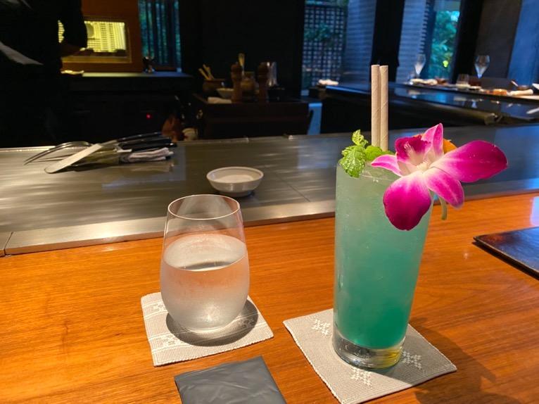 ザ・リッツ・カールトン沖縄「喜瀬(KISE)」:ノンアルコールカクテル