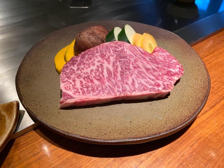 ザ・リッツ・カールトン沖縄「喜瀬(KISE)」:沖縄県産黒毛和牛サーロイン1