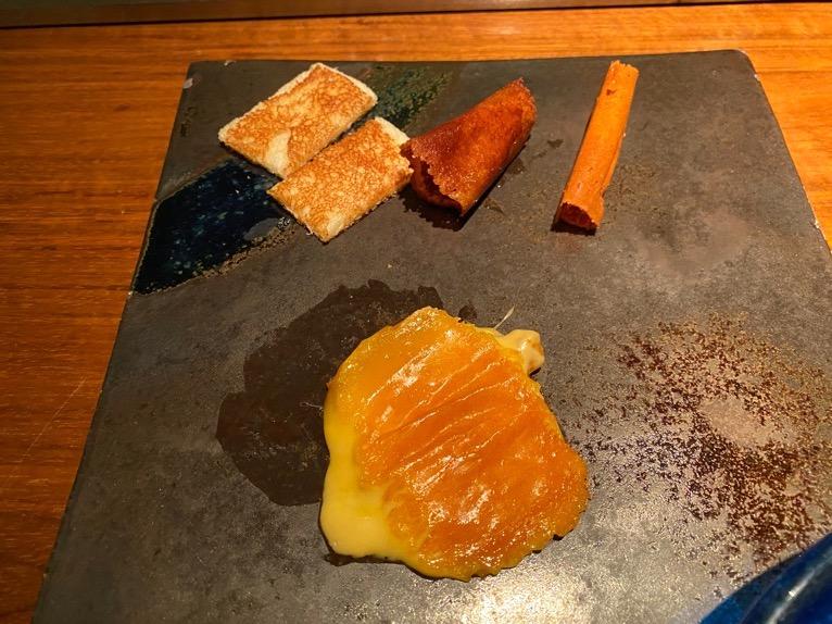 ザ・リッツ・カールトン沖縄「喜瀬(KISE)」:チーズの鉄板焼き3