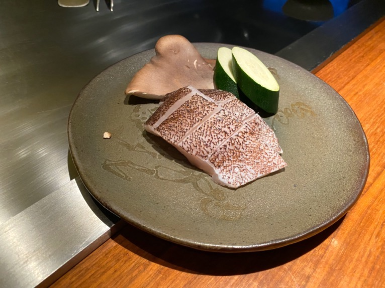 ザ・リッツ・カールトン沖縄「喜瀬(KISE)」:近海鮮魚1