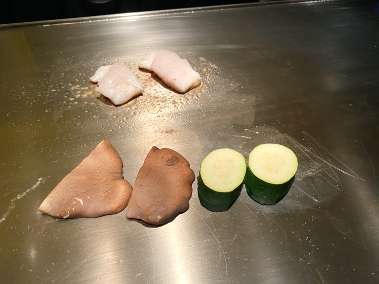 ザ・リッツ・カールトン沖縄「喜瀬(KISE)」:近海鮮魚2