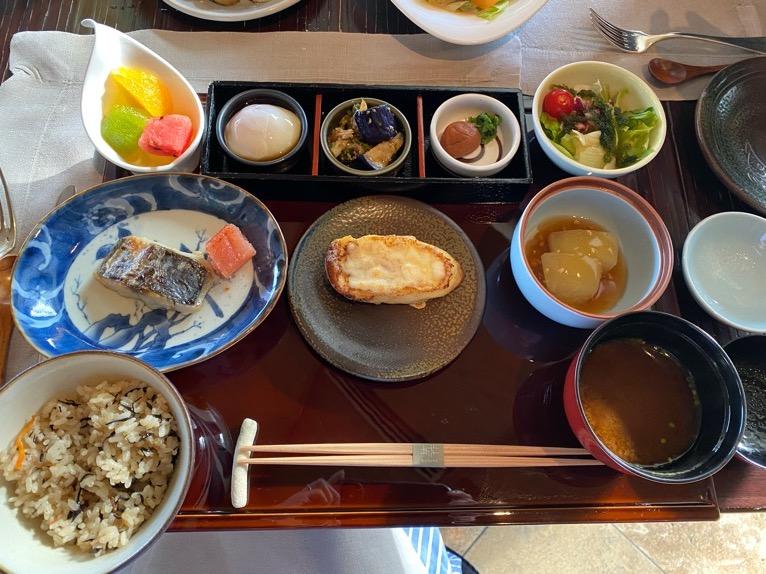 ザ・リッツ・カールトン沖縄の朝食:セットプレート