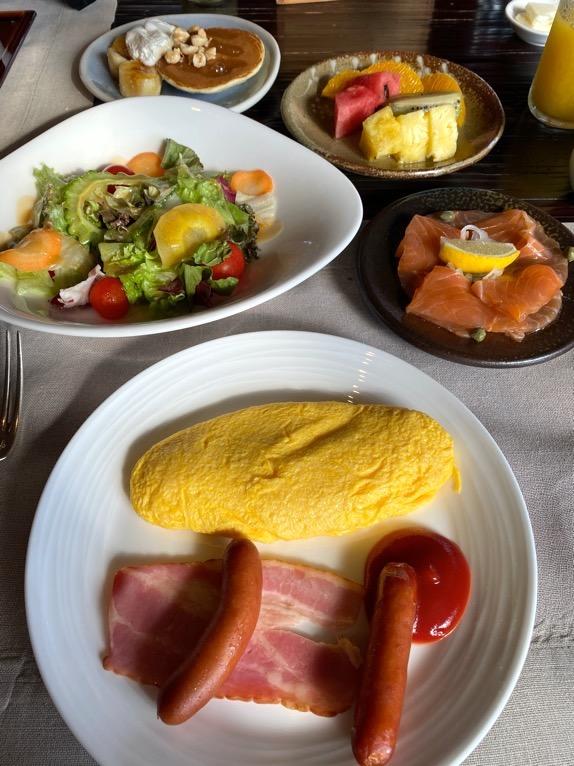 ザ・リッツ・カールトン沖縄の朝食:アラカルトメニュー