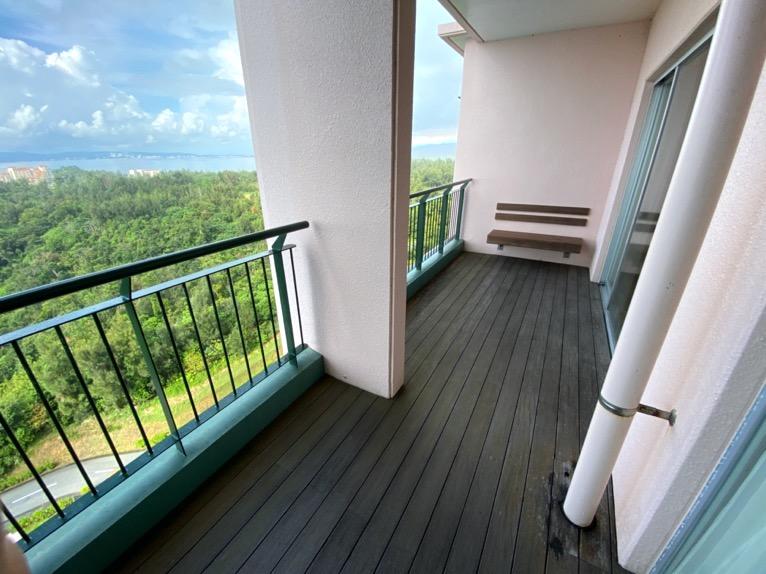 オキナワ マリオット リゾート&スパ「客室」:眺望1