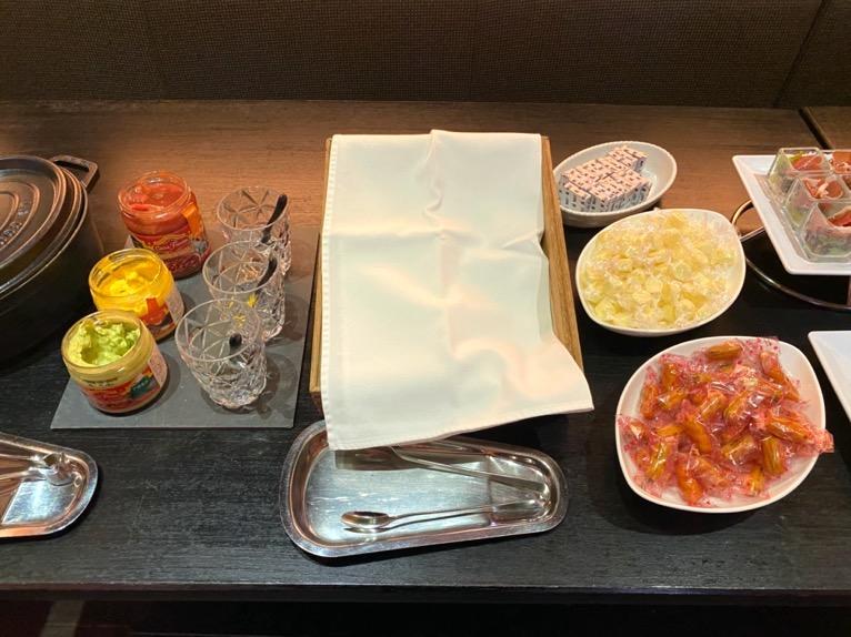 オキナワ マリオット リゾート&スパのエグゼクティブラウンジ:チーズ