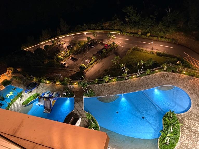 オキナワ マリオット リゾート&スパ「客室」:夜景