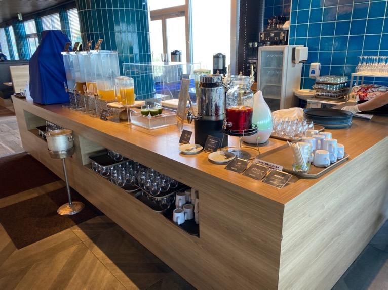 オキナワ マリオット リゾート&スパの朝食「クワッチー」:ドリンクバー