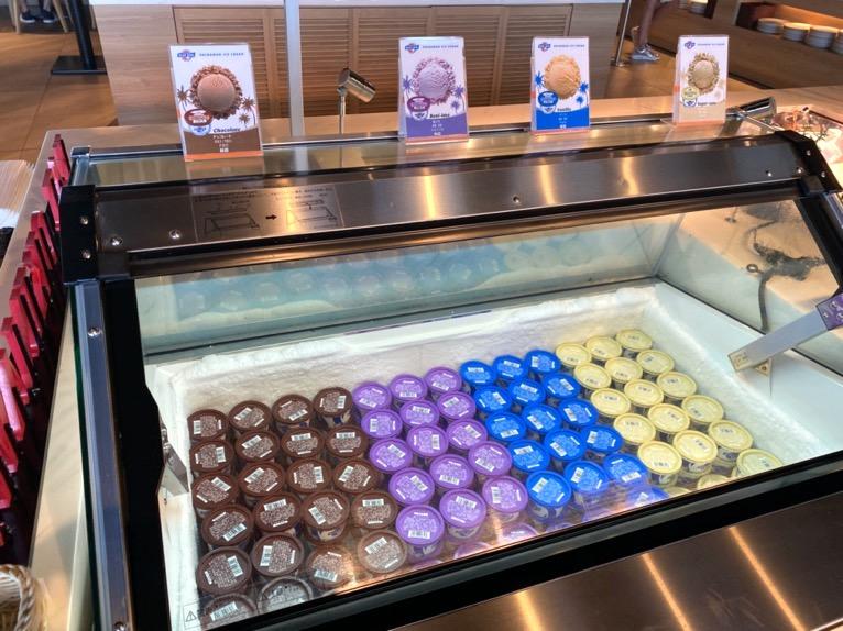 オキナワ マリオット リゾート&スパの朝食「クワッチー」:アイス