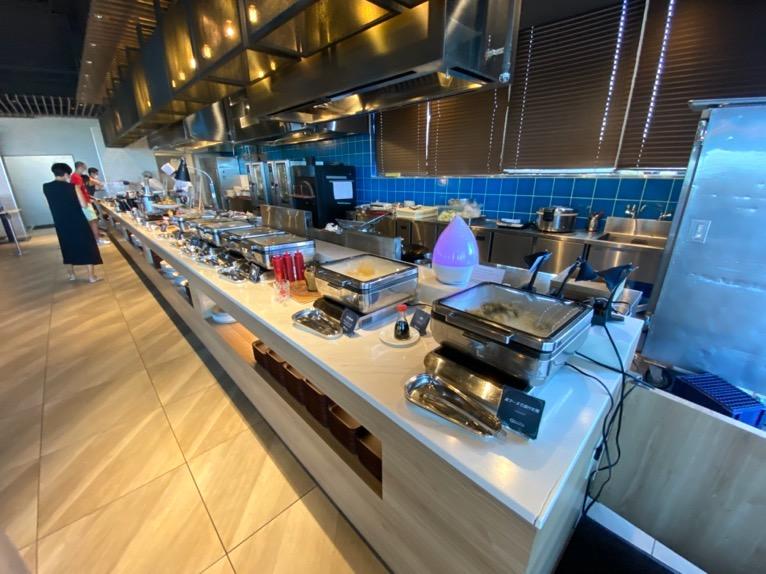オキナワ マリオット リゾート&スパの朝食「クワッチー」:ホットミールコーナー
