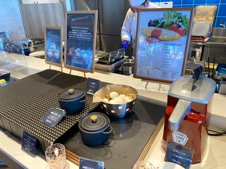 オキナワ マリオット リゾート&スパの朝食「クワッチー」:エッグステーション