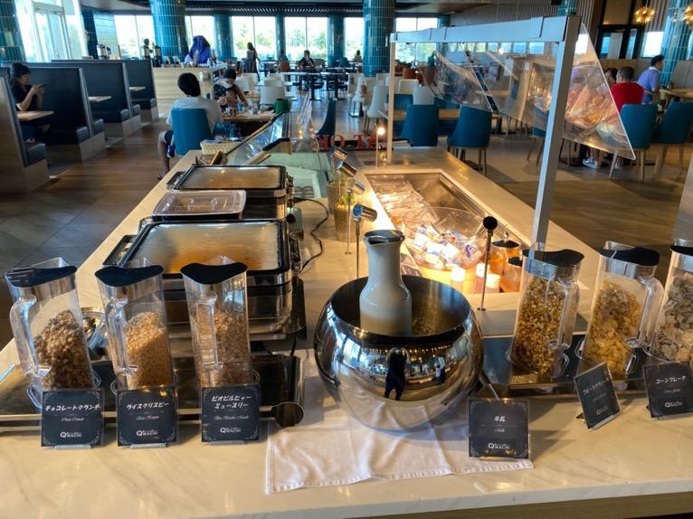オキナワ マリオット リゾート&スパの朝食「クワッチー」:シリアル