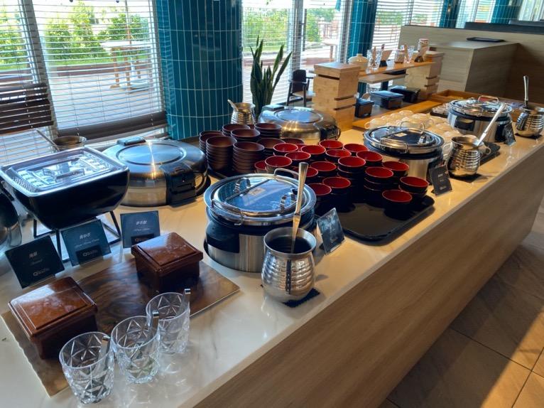 オキナワ マリオット リゾート&スパの朝食「クワッチー」:和食コーナー