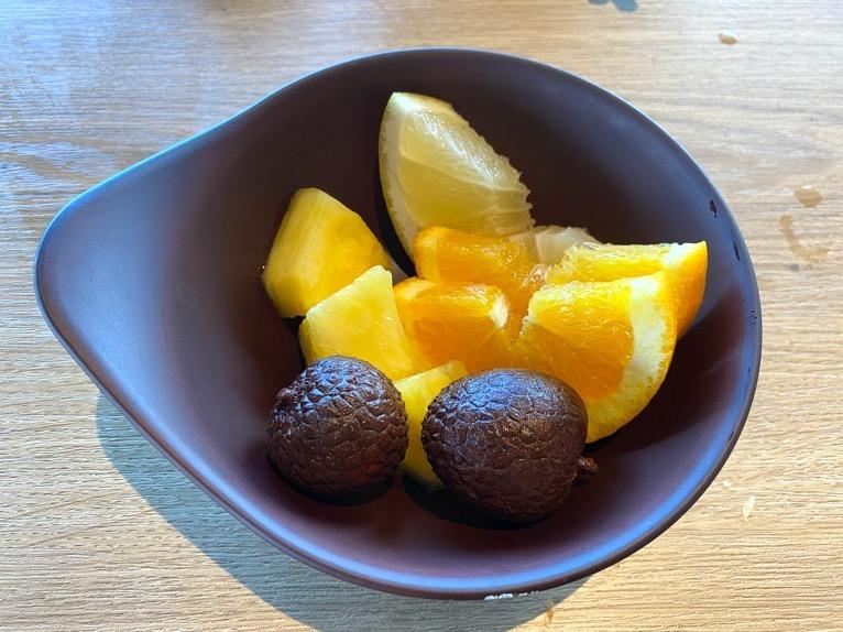 オキナワ マリオット リゾート&スパの朝食「クワッチー」:フルーツ