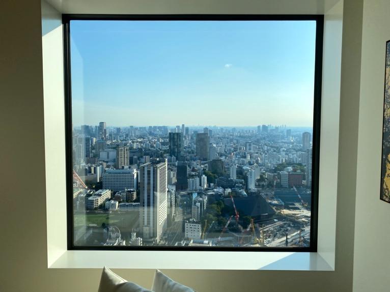 東京エディション虎ノ門「客室(デラックスルーム)」:眺望1