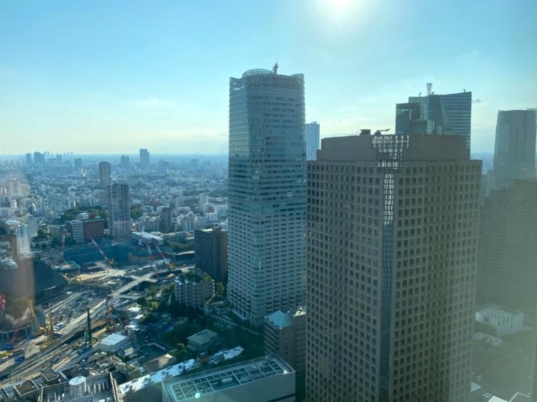 東京エディション虎ノ門「客室(デラックスルーム)」:眺望3