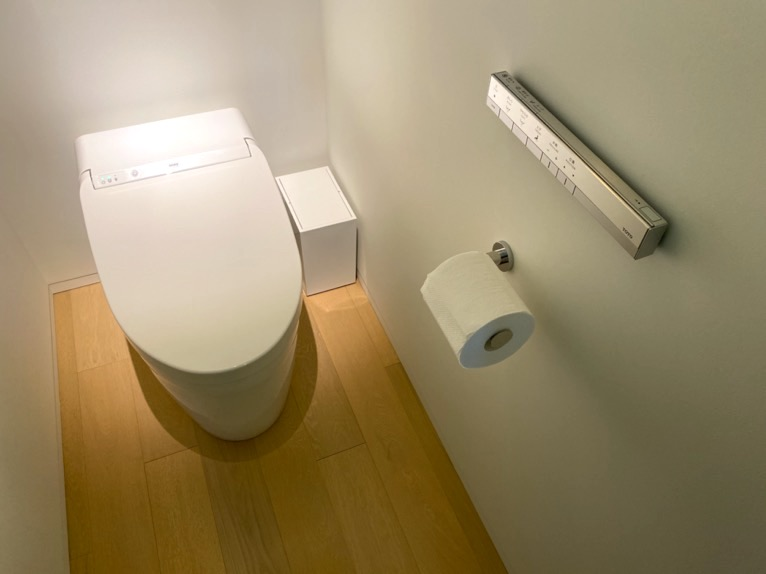 東京エディション虎ノ門「客室(デラックスルーム)」:トイレ