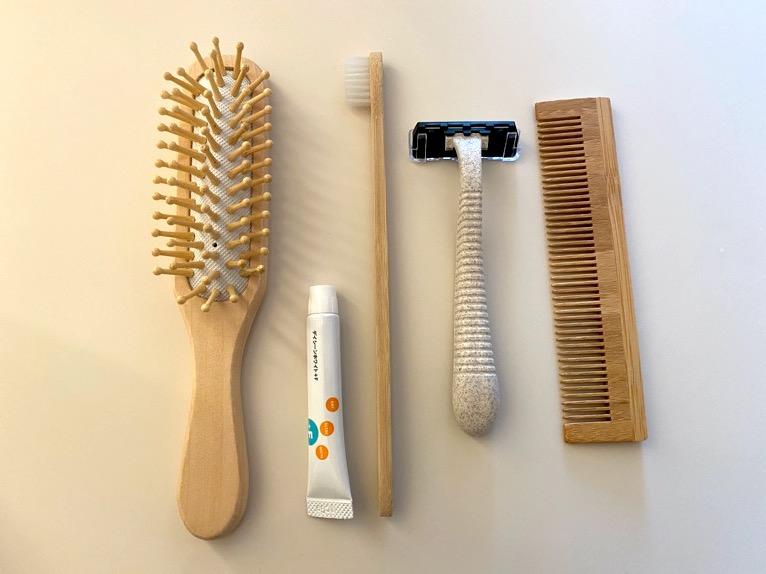 東京エディション虎ノ門「客室(デラックスルーム)」:歯ブラシ