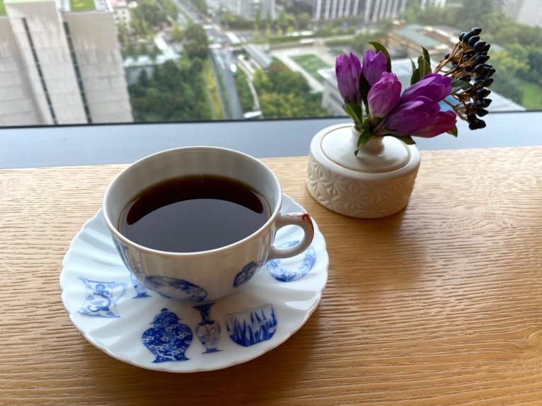 ザ・キャピトルホテル東急「クラブラウンジ」:コーヒー