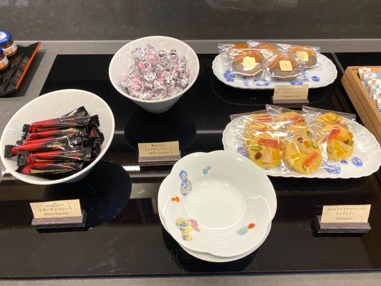 ザ・キャピトルホテル東急「クラブラウンジ」:チョコレート