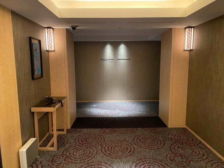 ザ・キャピトルホテル東急「客室」:エレベーターホール