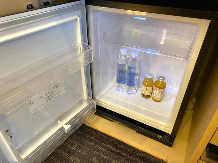 ザ・キャピトルホテル東急「客室」:冷蔵庫