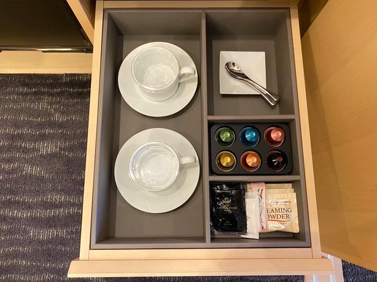 ザ・キャピトルホテル東急「客室」:ネスプレッソ