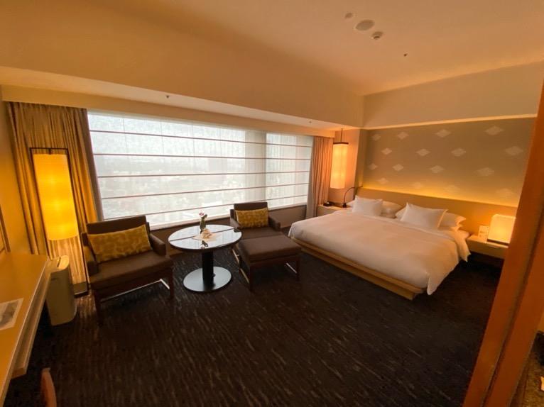ザ・キャピトルホテル東急「客室」:寝室1