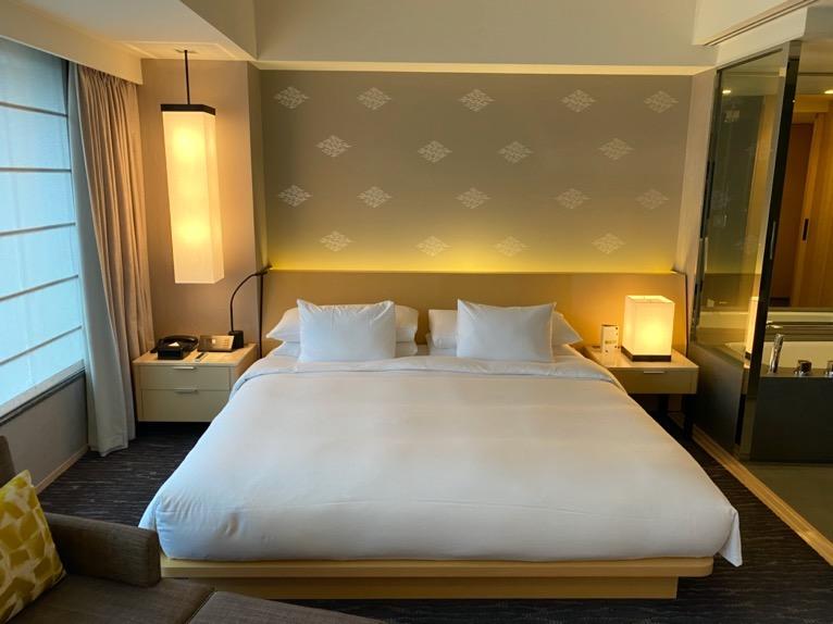 ザ・キャピトルホテル東急「客室」:ベッド